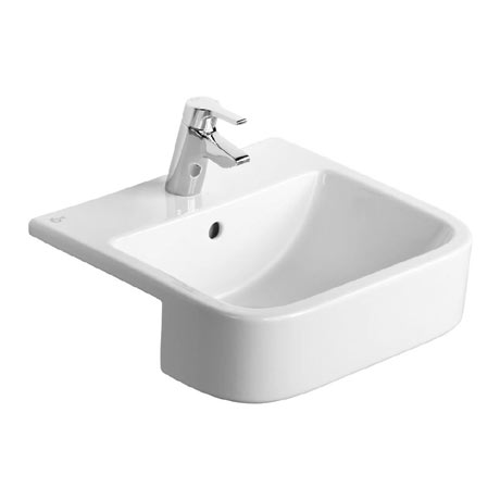 Ideal Standard Concept Cube 50cm 1TH Semi Countertop Basin