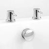 Ultra Freeflow Bath Filler Side Valves & Waste profile small image view 1
