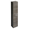 Ideal Standard Tempo Wall Hung 2 Door Tall Storage Cabinet - Sandy Grey - E3243SG profile small image view 1