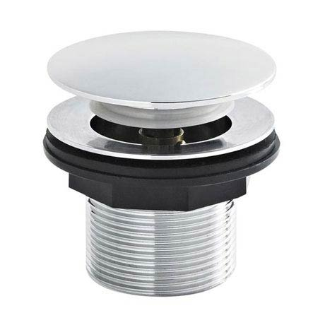 Ultra - C/P Push Button Bath Waste without Overflow - E324