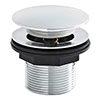 Nuie Chrome Push Button Bath Waste without Overflow - E324 profile small image view 1