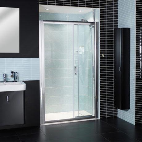 Roman Embrace Three Panel Sliding Shower Door Victorian