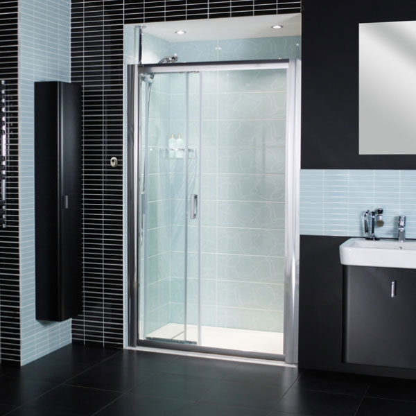 Roman Embrace Three Panel Sliding Shower Door Available
