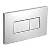 Ideal Standard Karisma Flush Plate (Unbranded) - Chrome profile small image view 1