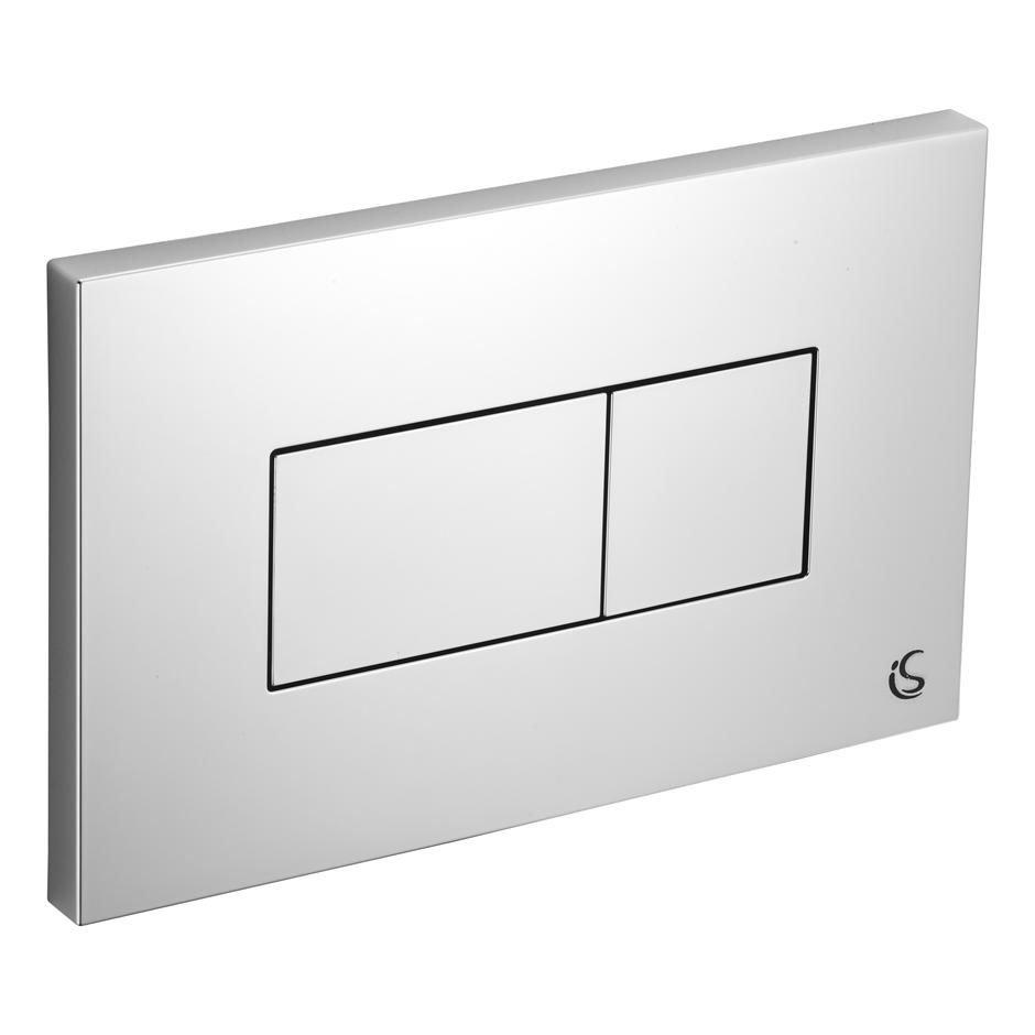 Ideal Standard Karisma Flush Plate (Branded) - Chrome
