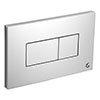 Ideal Standard Karisma Flush Plate (Branded) - Chrome profile small image view 1