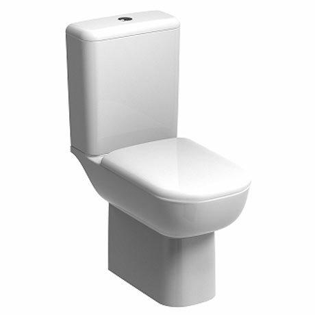 Twyford E500 Round Rimfree Close Coupled Toilet