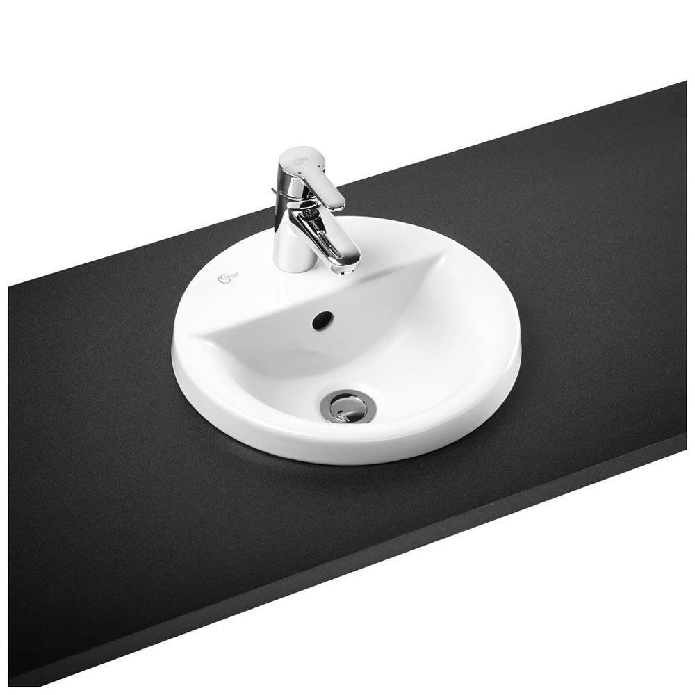 Ideal Standard Concept Sphere 1TH Inset Countertop Basin