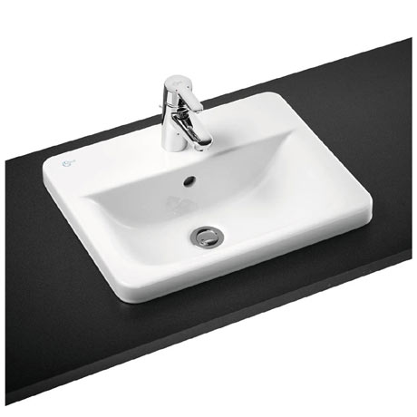 Ideal Standard Concept Cube 1TH Inset Countertop Basin