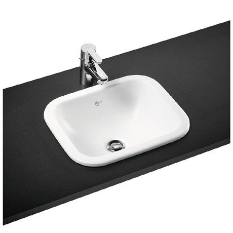 Ideal Standard Concept Cube 42cm 0TH Inset Countertop Basin