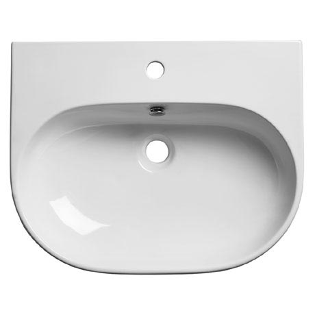 Roper Rhodes Edition 600mm Wall Mounted or Countertop Basin - E60SB