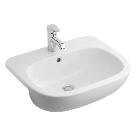 Ideal Standard Jasper Morrison 55cm 1TH Semi-Countertop Washbasin