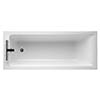 Ideal Standard Concept 1700 x 750mm 2TH Single Ended Idealform Bath profile small image view 1