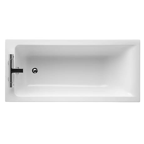 Ideal Standard Concept 1500 x 700mm 2TH Single Ended Idealform Bath