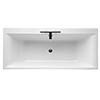 Ideal Standard Concept 1700 x 750mm 2TH Double Ended Idealform Bath profile small image view 1
