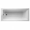 Ideal Standard Concept 1500 x 700mm 0TH Single Ended Idealform Bath profile small image view 1