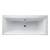 Ideal Standard Concept 1700 x 750mm 0TH Double Ended Idealform Bath profile small image view 1