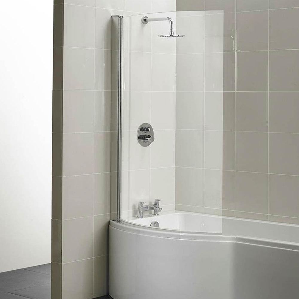 Ideal Standard Concept 1022 x 1500mm Curved Shower Bath Screen - E7407AA