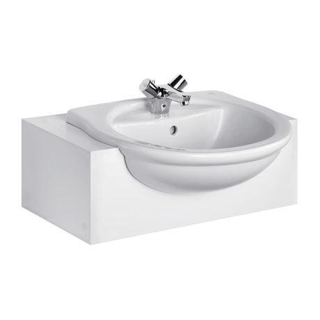 Ideal Standard Alto 55cm 1TH Semi-Countertop Washbasin