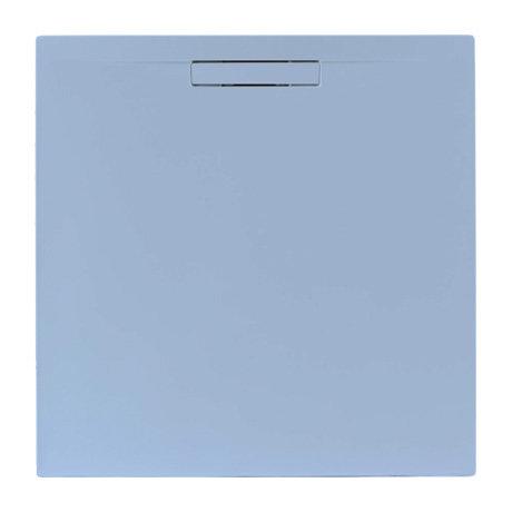 JT Evolved 25mm Square Shower Tray - Pastel Blue