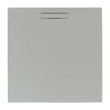 JT Evolved 25mm Square Shower Tray - Mistral Grey