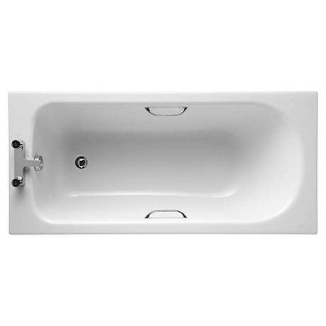 Ideal Standard Alto CT 1500 x 700mm 2TH Single Ended Idealform Bath with Grips