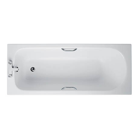 Ideal Standard Alto CT 1700 x 700mm 2TH Single Ended Idealform Bath with Grips