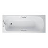 Ideal Standard Alto CT 1700 x 700mm 2TH Single Ended Idealform Bath with Grips profile small image view 1