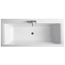 Ideal Standard Alto 1700 x 750mm 0TH Double Ended Idealform Bath Medium Image