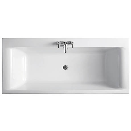 Ideal Standard Alto 1700 x 750mm 0TH Double Ended Idealform Bath
