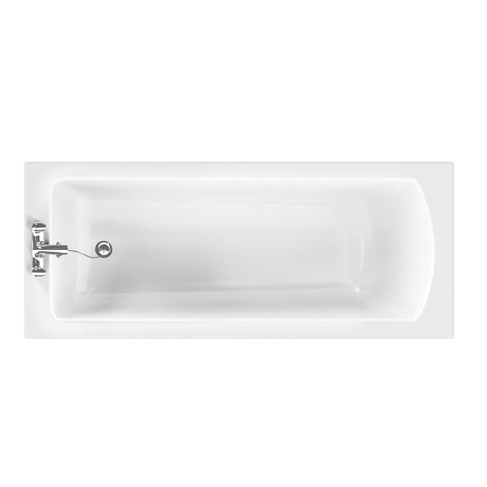 Ideal Standard Vue 1700 x 700mm 2TH Pre-drilled Single Ended Bath ...