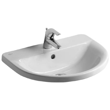 Ideal Standard Concept Arc 55cm 1TH Inset Countertop Basin