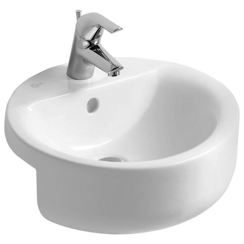 Ideal Standard Concept Sphere 45cm 1TH Semi Countertop Basin