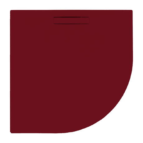JT Evolved 25mm Quadrant Shower Tray - Malbec Red