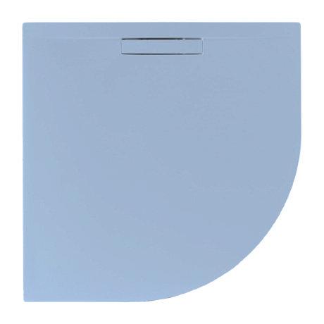 JT Evolved 25mm Quadrant Shower Tray - Pastel Blue