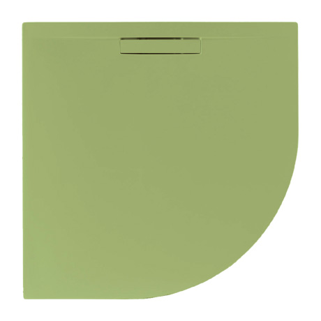JT Evolved 25mm Quadrant Shower Tray - Sage Green