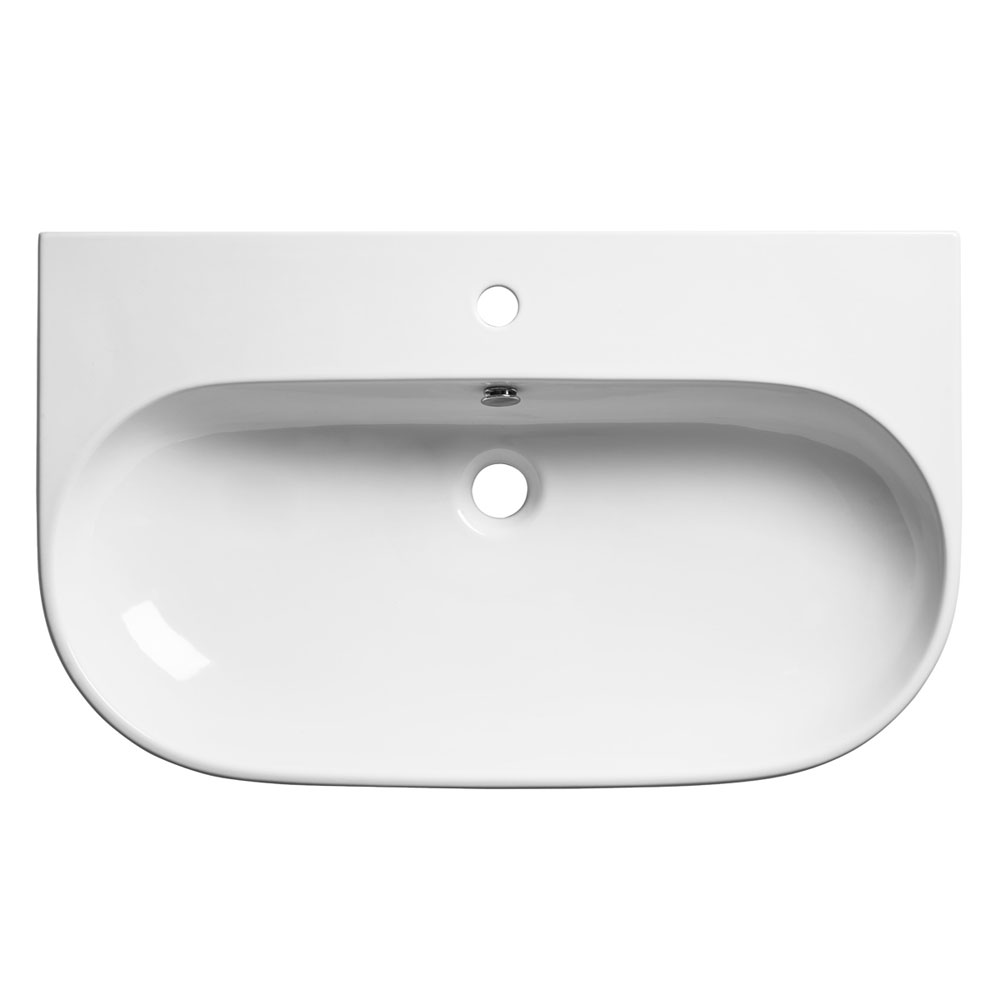 Roper Rhodes Edition 800mm Wall Mounted or Countertop Basin - E80SB Large Image