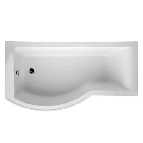 Ideal Standard Concept 1700 x 900mm 0TH Idealform Plus+ Shower Bath
