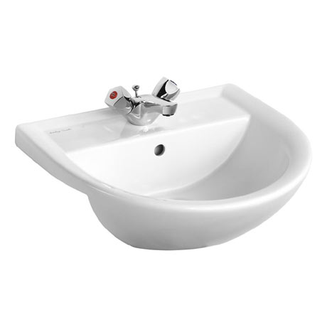 Armitage Shanks Sandringham 21 50cm Semi-Countertop Washbasin