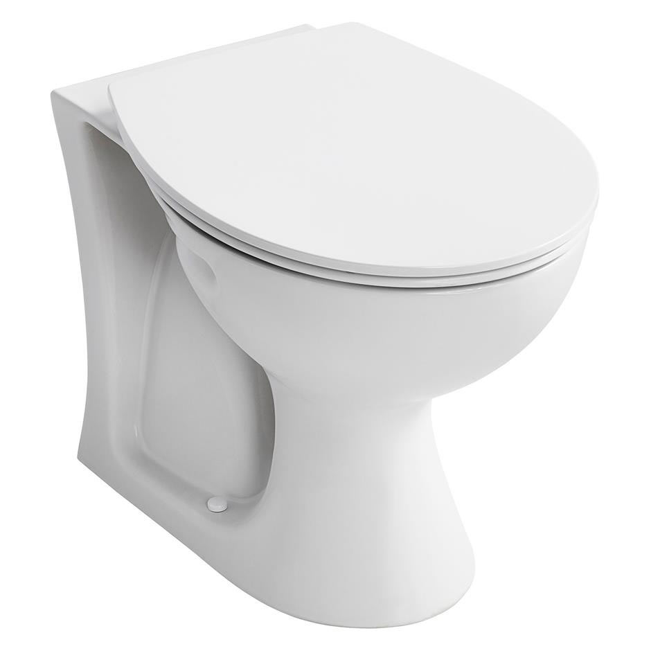 Armitage Shanks Sandringham 21 Back To Wall WC + Soft Close Seat