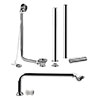 Hudson Reed Luxury Roll Top Bath Pack - Chrome - EA368 profile small image view 1