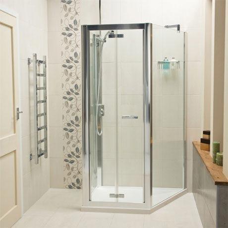 Roman - Embrace Trapezium Shower Enclosure - EAF13S01