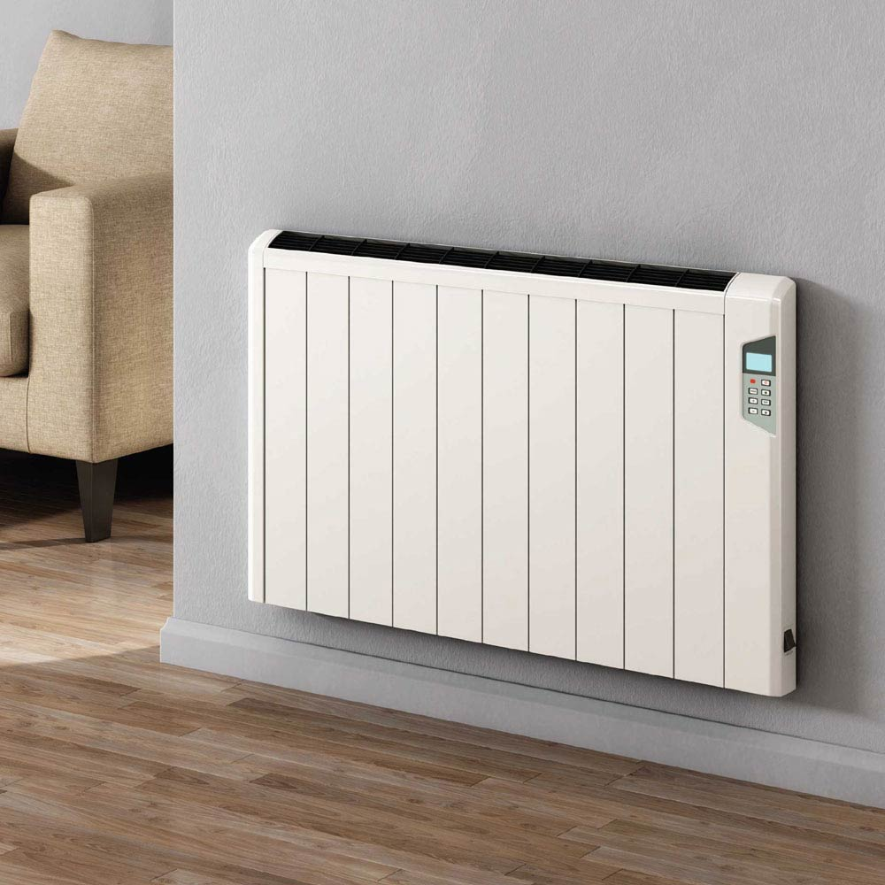 Reina Arlec Aluminium Electric Radiator with Remote Control