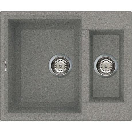 Reginox Easy 150 1.5 Bowl Granite Kitchen Sink - Titanium