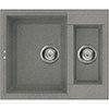 Reginox Easy 150 1.5 Bowl Granite Kitchen Sink - Titanium profile small image view 1