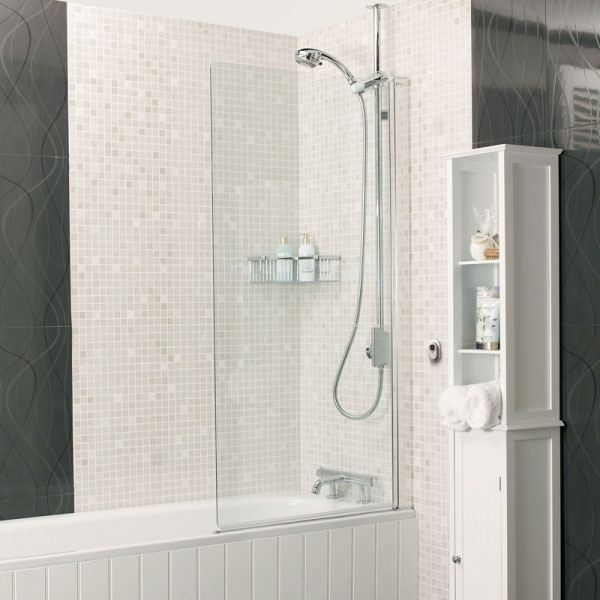Roman - Embrace Clear Bath Screen - 2 Size Options Large Image
