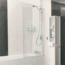 Roman - Embrace Clear Bath Screen - 2 Size Options Medium Image