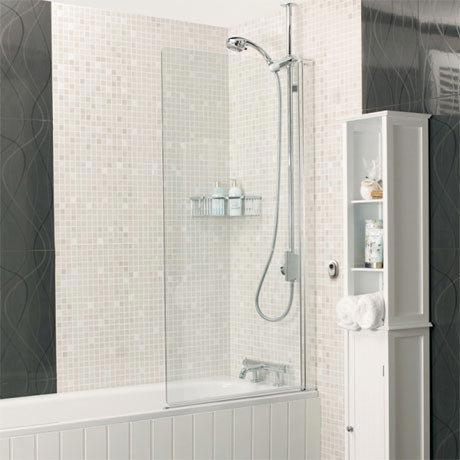 Roman - Embrace Clear Bath Screen - 2 Size Options