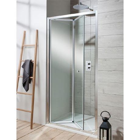 Simpsons - Edge Bifold Shower Door - Various Size Options
