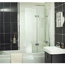 Roman - Embrace Folding Bath Screen - EBV13S Medium Image